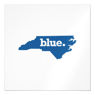 NORTH CAROLINA BLUE STATE MAGNETIC CARD