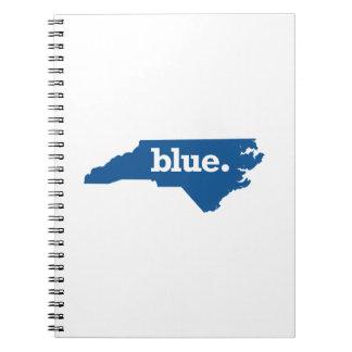 NORTH CAROLINA BLUE STATE SPIRAL NOTEBOOK