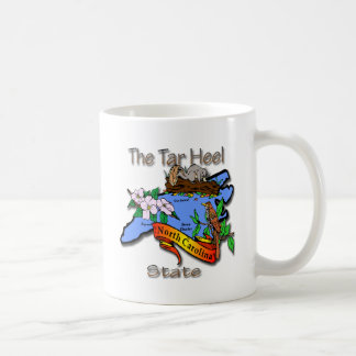 North Carolina Blue The Tar Heel State BirdFlower Coffee Mug