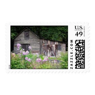 North Carolina Cabin Postage