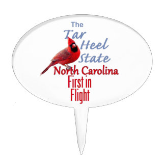 NORTH CAROLINA CAKE TOPPER