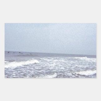 North Carolina Coastal Photography Rectangular Sticker