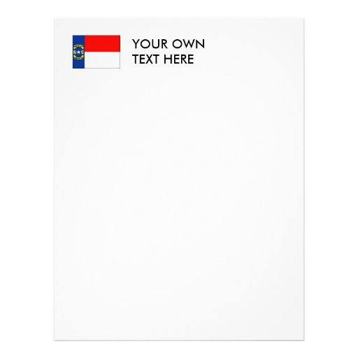 NORTH CAROLINA CUSTOM LETTERHEAD