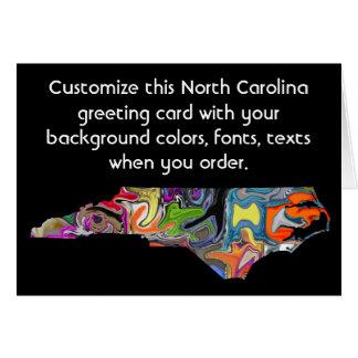 North Carolina Customize card how you want it