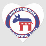 North Carolina Democratic Party Sticker