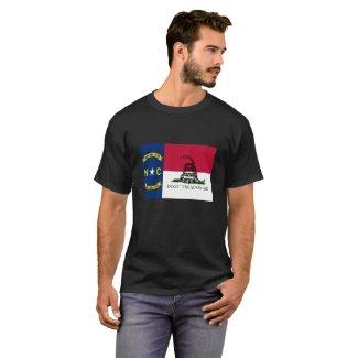 North Carolina- Don't Tread on Me T-Shirt