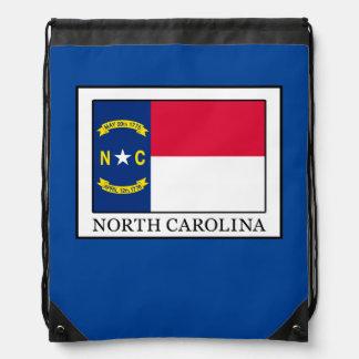 North Carolina Drawstring Bag