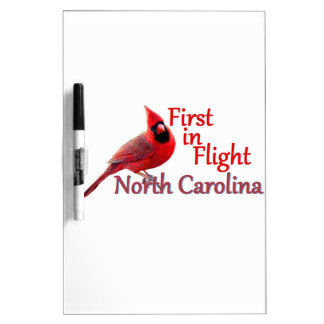 NORTH CAROLINA Dry-Erase WHITEBOARD