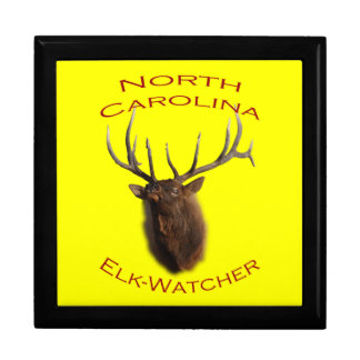 North Carolina Elk-Watcher Gift Box