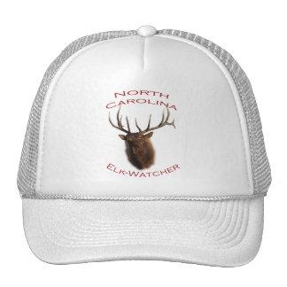 North Carolina Elk-Watcher Mesh Hats