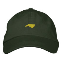 North Carolina Embroidered Baseball Hat