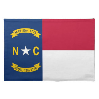 North Carolina Flag American MoJo Placemat