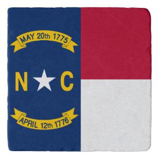 North Carolina  flag, American state flag Trivets