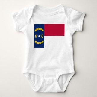 North Carolina Flag Baby Bodysuit