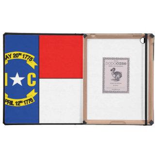 NORTH CAROLINA FLAG iPad CASES