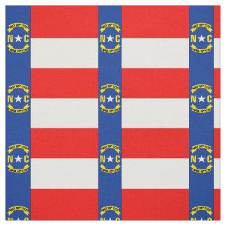 NORTH CAROLINA Flag Fabric