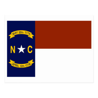 North Carolina FLAG International Postcard