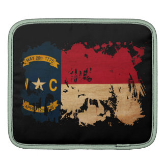 North Carolina Flag iPad Sleeve