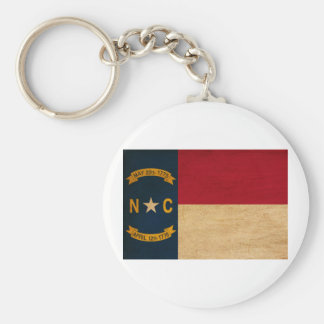 North Carolina Flag Keychain
