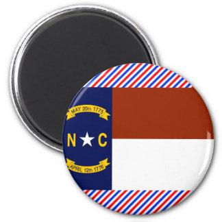 North Carolina Flag Refrigerator Magnet