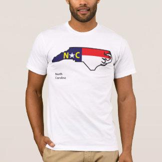 North Carolina Flag Map Shirt