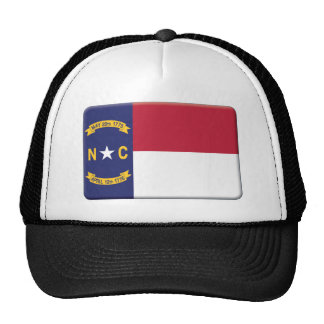 North Carolina Flag PERSONALIZE Trucker Hat