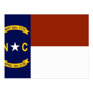 North Carolina Flag Postcard