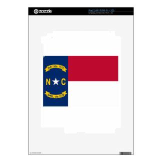 North Carolina Flag Decals For The iPad 2