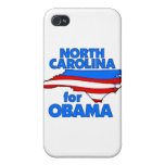 North Carolina for Obama 2012 iPhone 4 Cover
