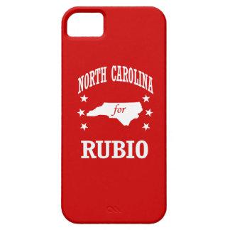 NORTH CAROLINA FOR RUBIO iPhone 5 CASES