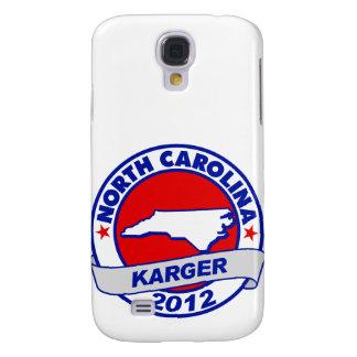 North Carolina Fred Karger Galaxy S4 Covers