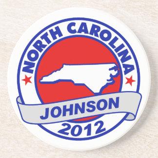 North Carolina Gary Johnson Coasters