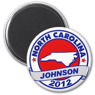 North Carolina Gary Johnson Magnets
