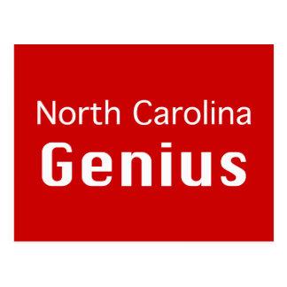 North Carolina  Genius Gifts Postcard