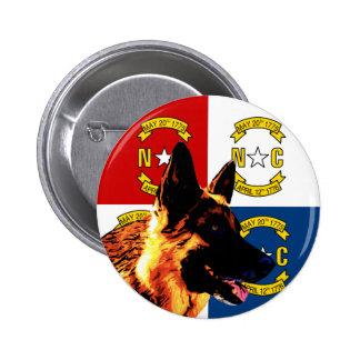 North Carolina German Shepherd Pins