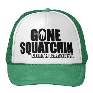 NORTH CAROLINA Gone Squatchin - Original Bobo Trucker Hat