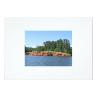North Carolina Henrico Lake setting Card
