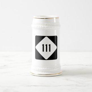 North Carolina Highway 111 Beer Stein