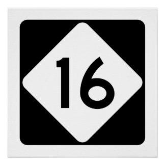 North Carolina Highway 16 Poster