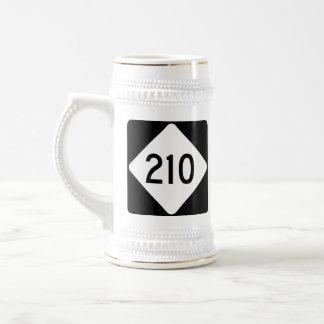 North Carolina Highway 210 Beer Stein