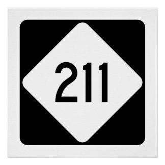 North Carolina Highway 211 Poster