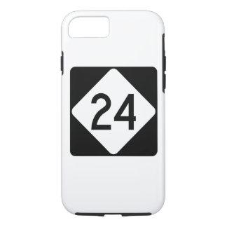North Carolina Highway 24 iPhone 8/7 Case