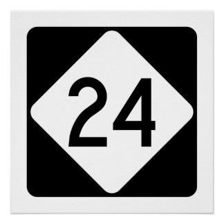North Carolina Highway 24 Poster