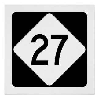 North Carolina Highway 27 Poster