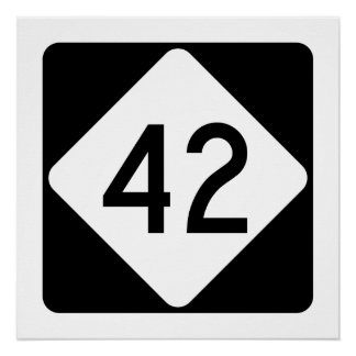 North Carolina Highway 42 Poster