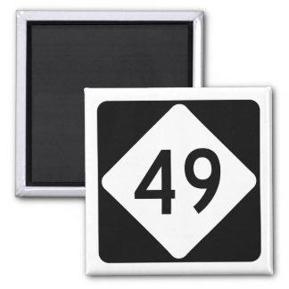 North Carolina Highway 49 Magnet
