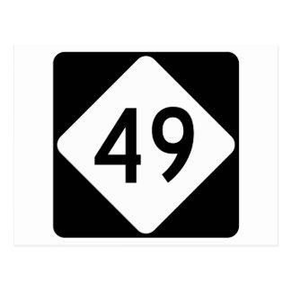 North Carolina Highway 49 Postcard