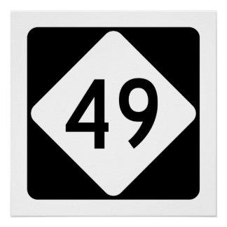 North Carolina Highway 49 Poster