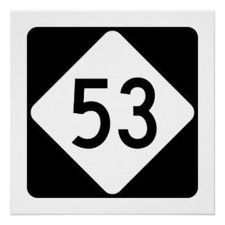 North Carolina Highway 53 Poster