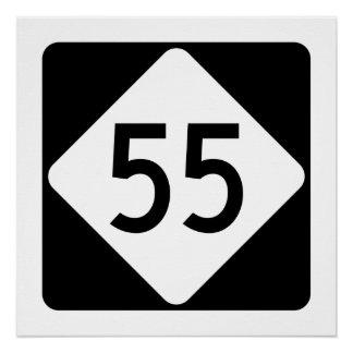 North Carolina Highway 55 Poster